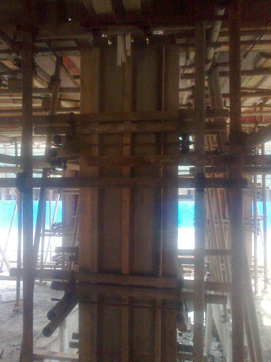 木工支模步骤图视频
