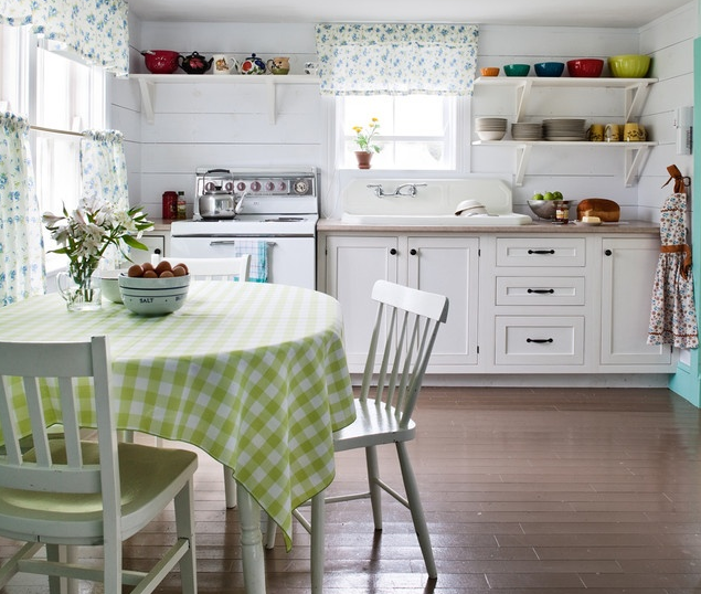3万打造50平简约厨房橱柜装修效果图   东南亚风格整体橱