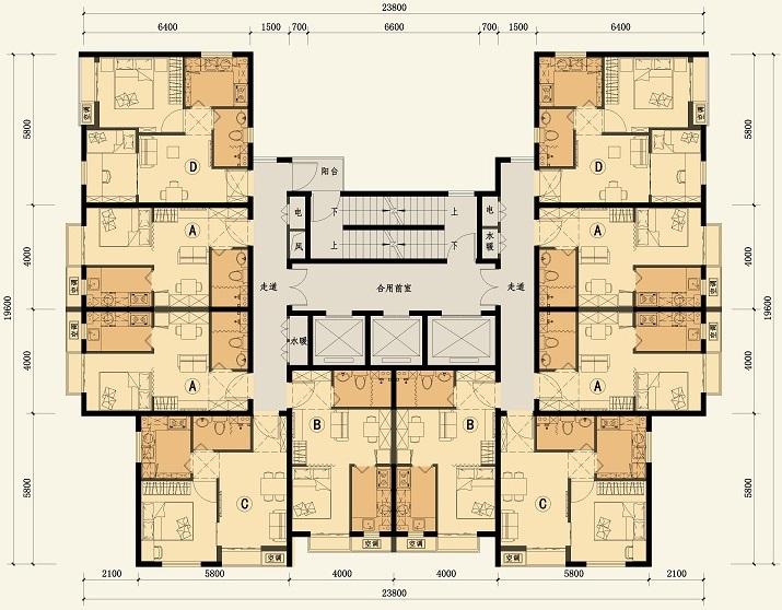 公共租赁住房的设计方案,欢迎大家拍砖