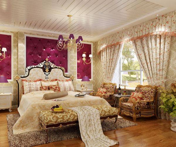 欧式风格卧室装修图,让你的卧室更美