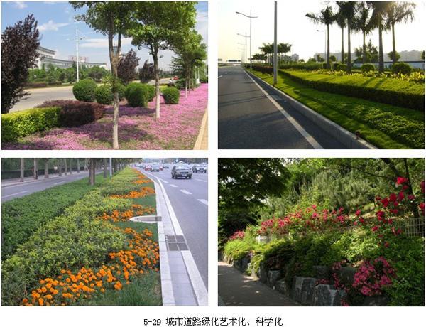 城市 交通道路景观 规划各种事项 土木