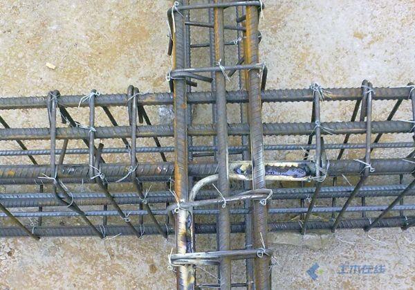 接地网次梁单边镀锌圆钢连接.jpg