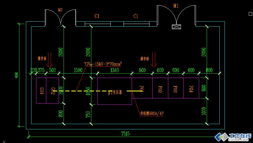 单相变压器的t形等效电路图