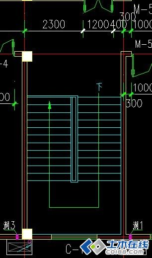 框架结构楼梯在pkpm中建模的处理