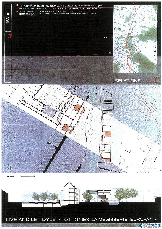 国外优秀建筑作业排版
