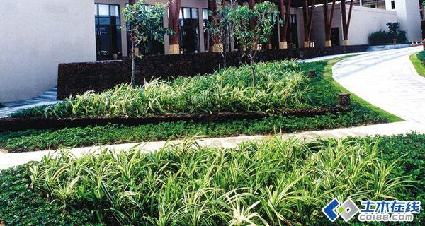 经典弧形花坛景观设计赏析图片http://bbsfile
