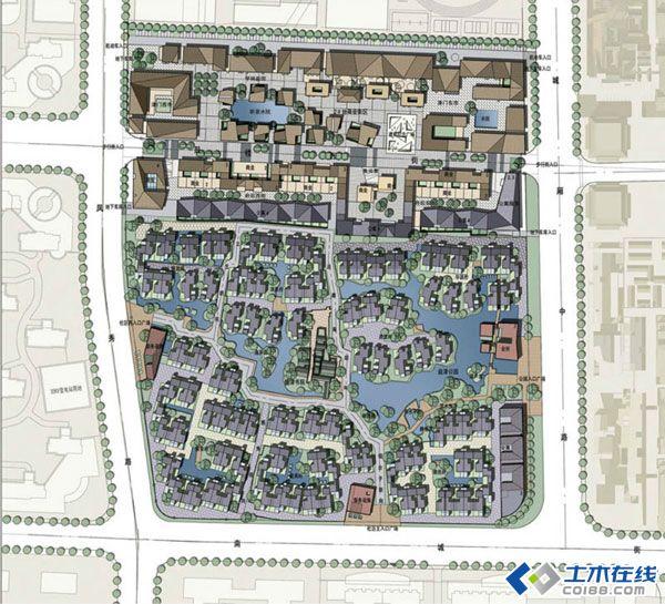 中國古典園林如何在當代的中國景觀設計中應用呢?探索者很多,其中新中式景觀即為一種。新中式風格使用傳統的造園手法、運用中國傳統韻味的色彩、中國傳統的圖案符號、植物空間的營造等來打造具有中國韻味的現代景觀空間,展現水橋房的空間格局、黑白灰的民居色彩、輕秀雅的建筑風格、情趣神的園林意境。它既保留了傳統文化,又體現了時代特色,突破了中國傳統風格中沉穩有余,活潑不足等常見的弊端。其中居住景觀使用者比較多,從廣州清華坊到萬科第五園,直至上海九間堂,新中式的使用褒貶不一,有人評價此類應用只是個表皮包裝。中