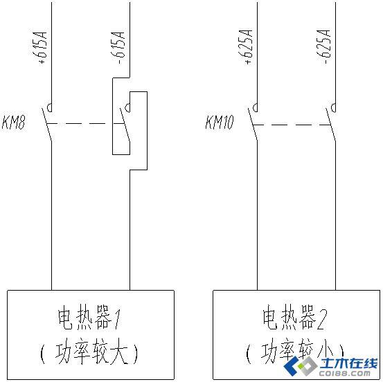 接触器自锁接线图