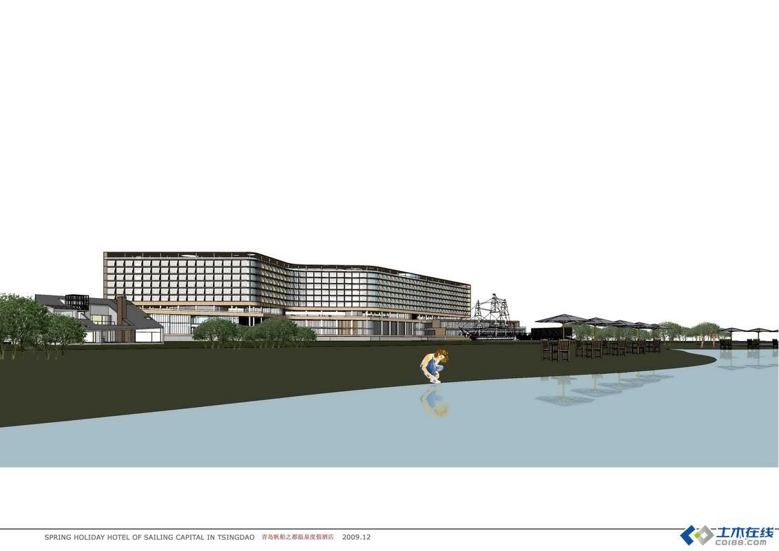 青岛帆船酒店图片_世界巨头耗资43亿迪拜在青岛复制七星帆船酒
