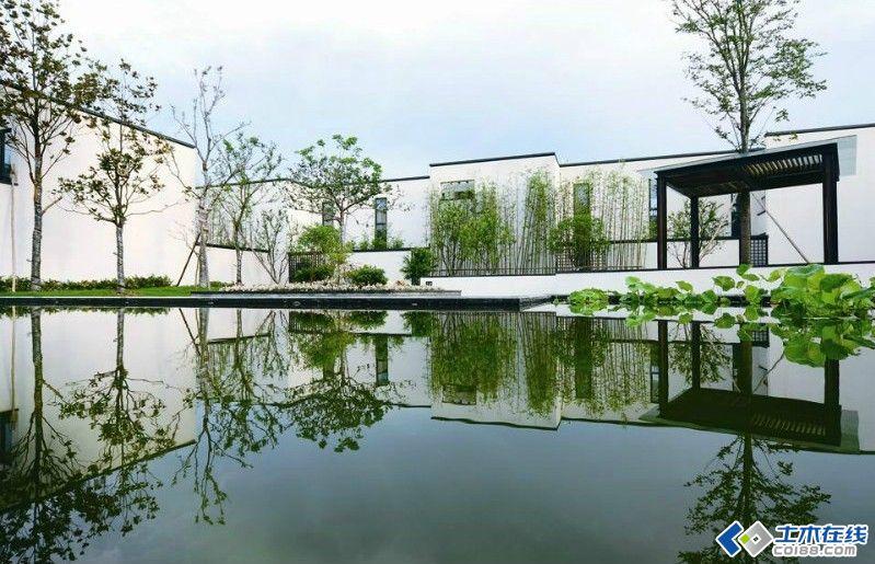 新中式庭院景观设计图片
