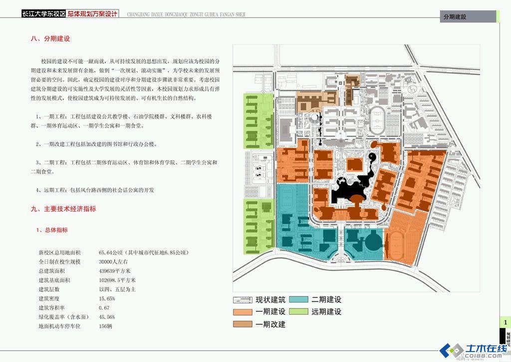 长江大学校园规划方案平面图