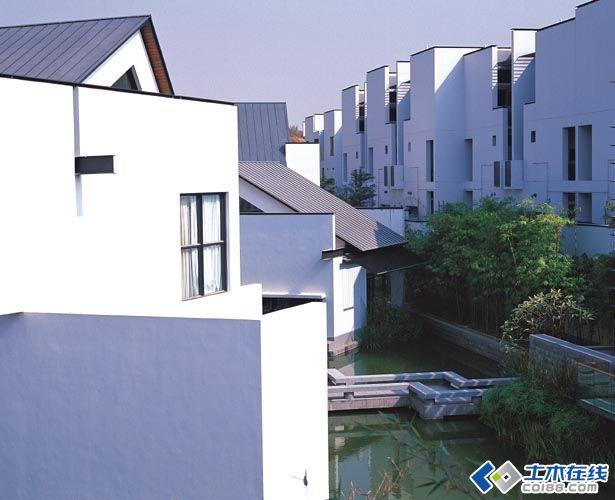 深圳万科第五园(新中式风格建筑)