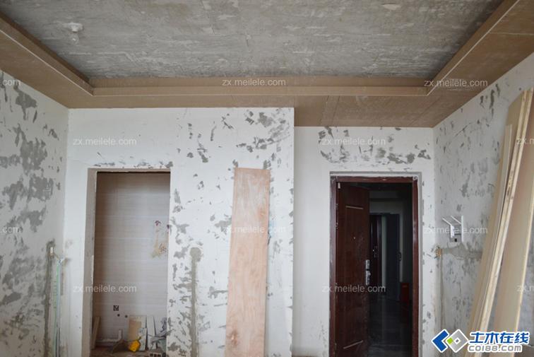 室内装修施工现场图片,大家可以看下