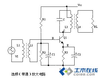 电路中元器件参数的选择等