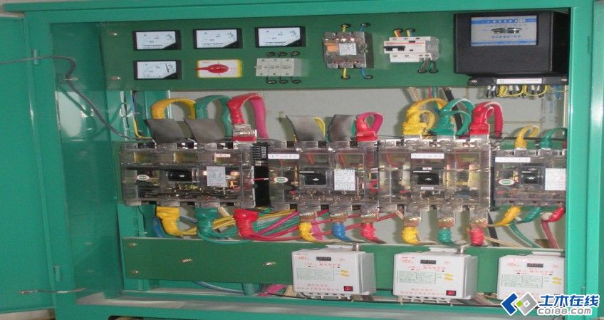 一级配电箱电路�_二级配电箱配置图纸展示