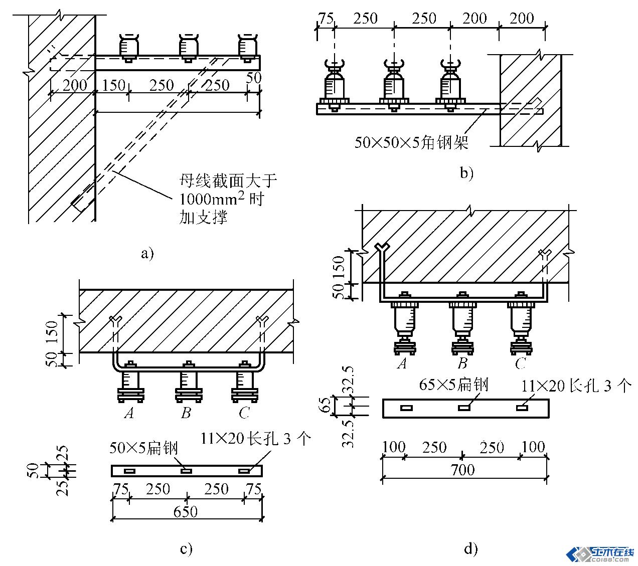 配电板接线工艺图