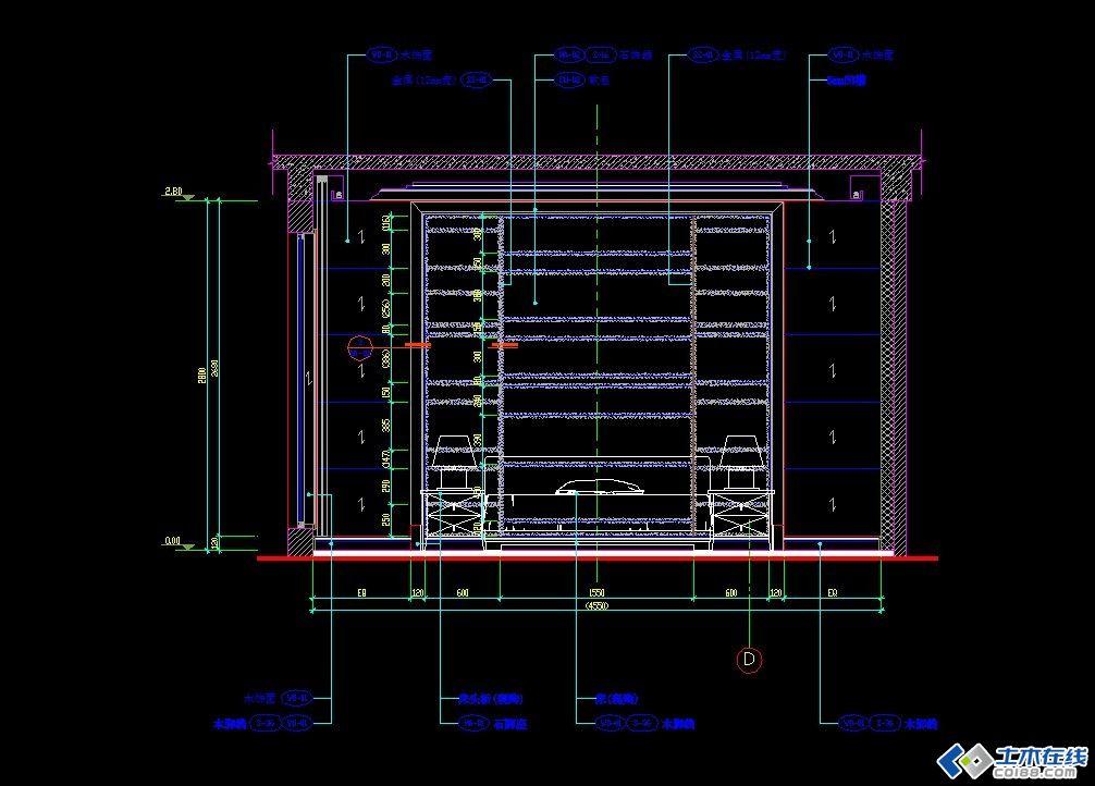 欧式别墅装修施工图