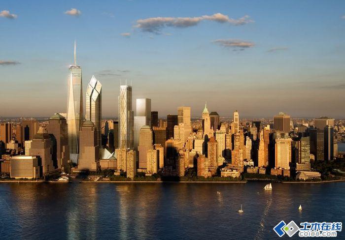 高 自由塔1号大楼建造实录,看美国人是怎样建造高楼的