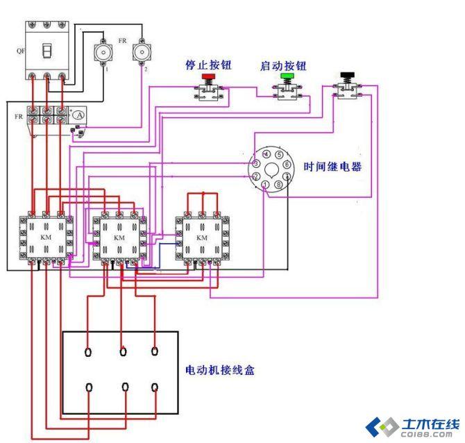 各种接线方式,献给电气自动化专业的好友 确实实用