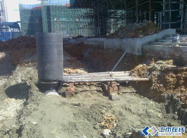 料检查井和塑料给排水管道图解安装方法