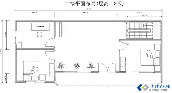 请教关于庭院风格的两层别墅设计图问题