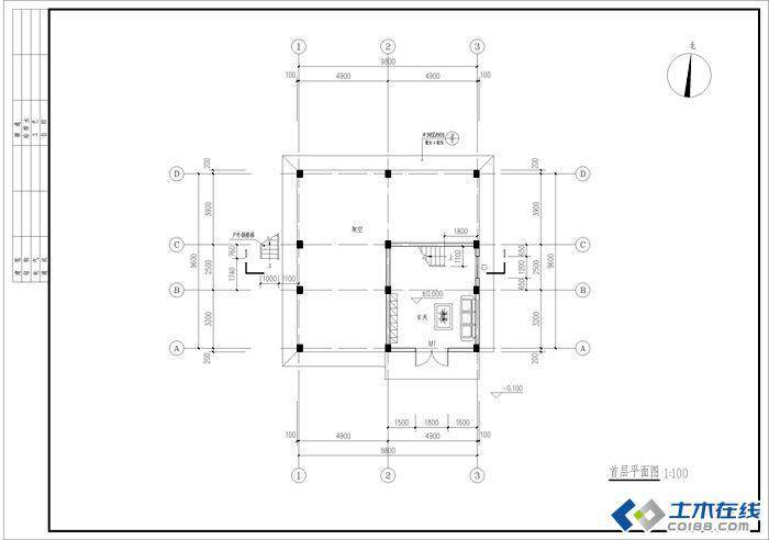 二层楼房设计图纸及效果图大全
