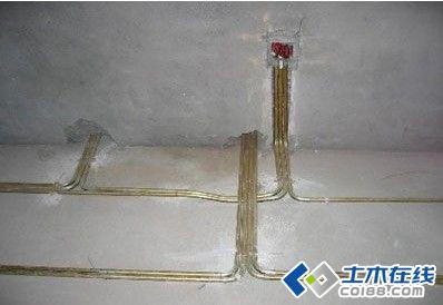 室内装饰电路装修施工工艺 高清图片