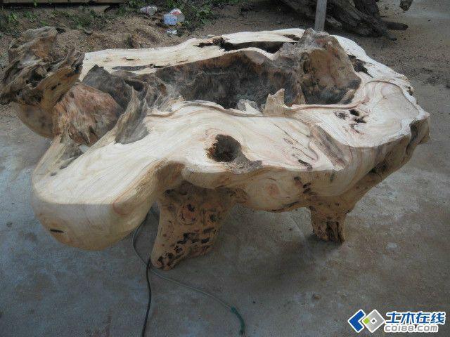 非常详细:根艺茶台制作八个步骤 - 鑫山角钢结构设计 - 鑫山角钢结构设计工作室