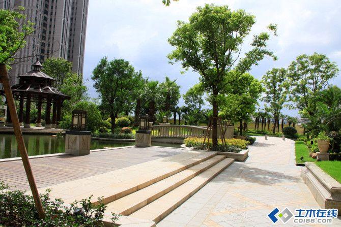 现代东南亚景观设计风格 品尊国际社区