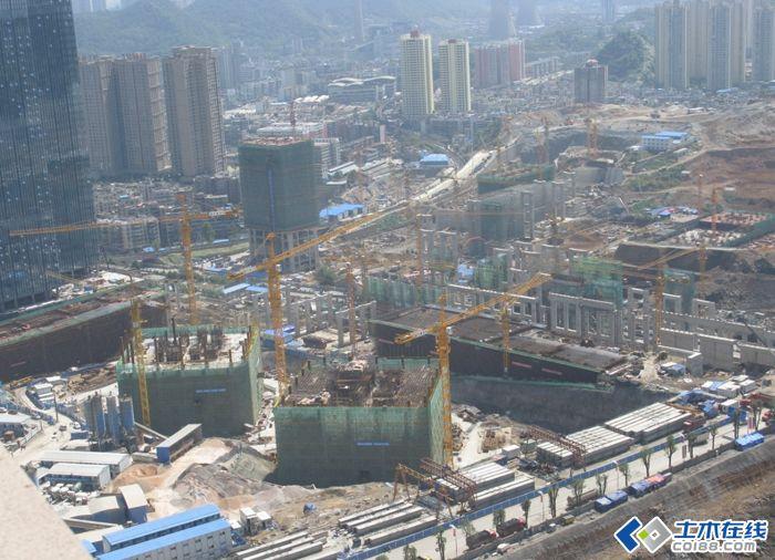 406米贵阳花果园改造双子塔项目(方案+施工)