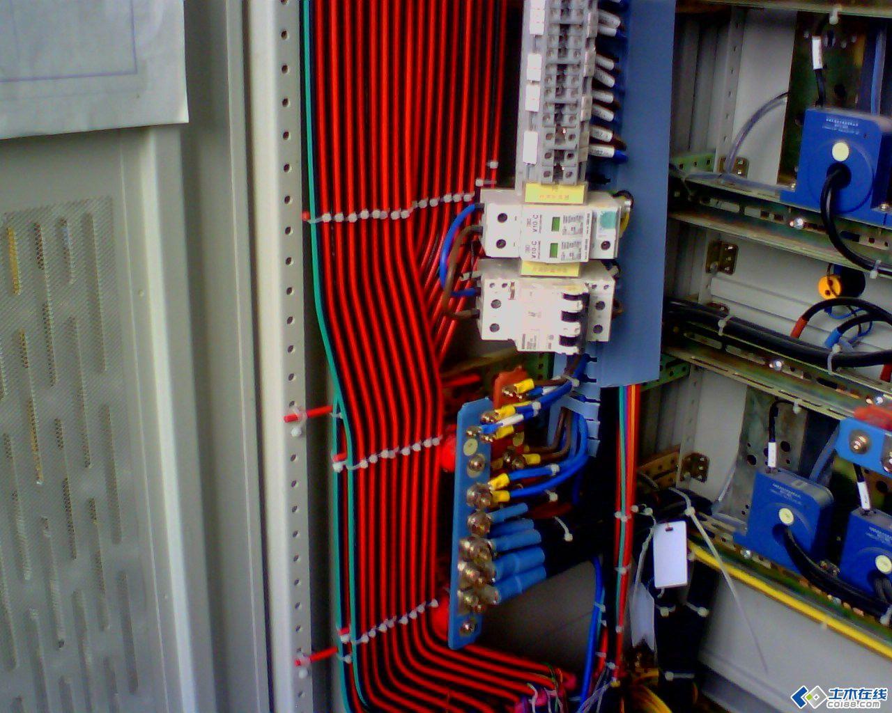 电气二次接线工艺配置