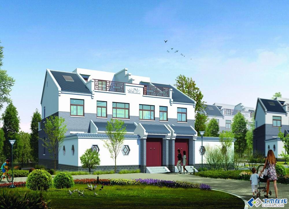 天津新农村自建房设计