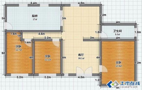 农村自建房求外观效果图 ,有平面尺寸图和外观样式图,求效果图
