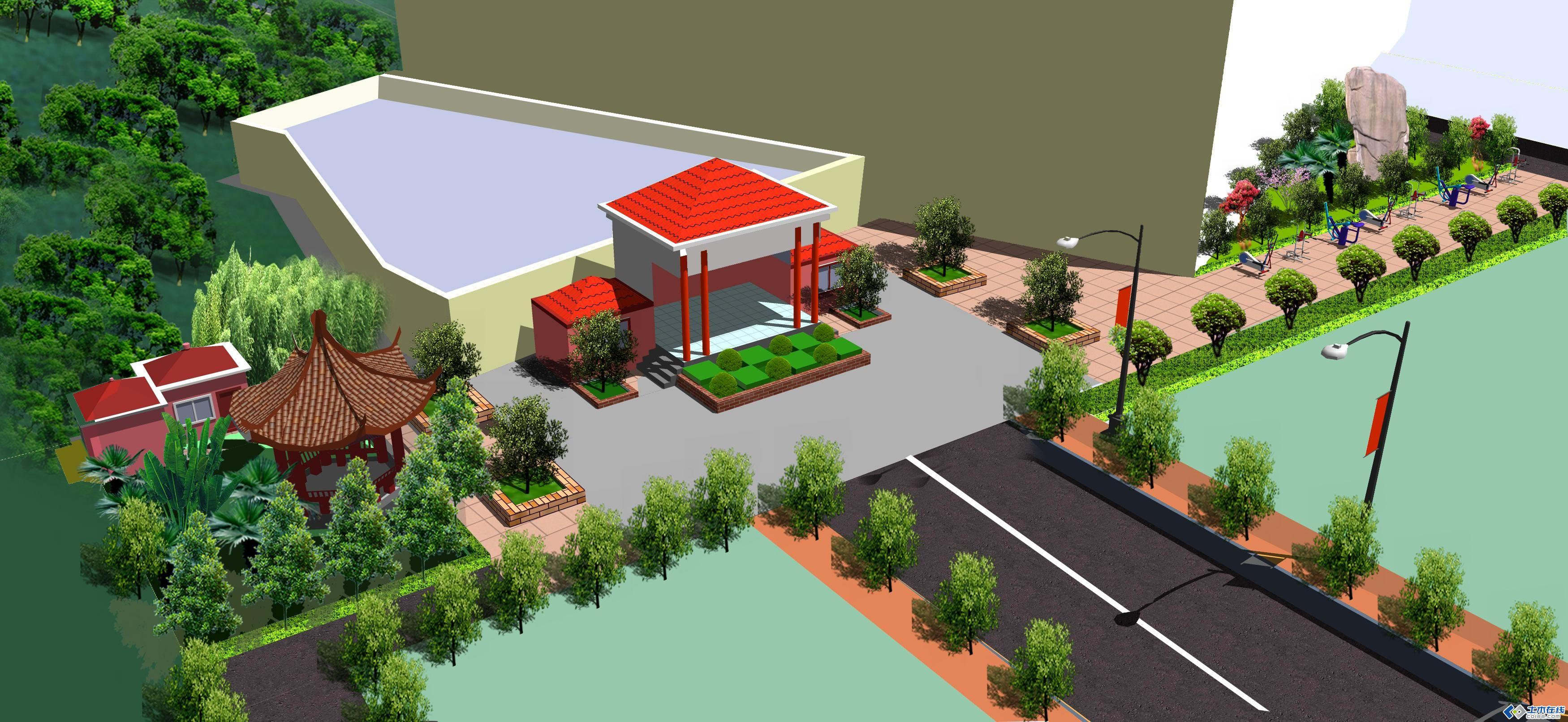 校園文化廣場設計設計專題簡介