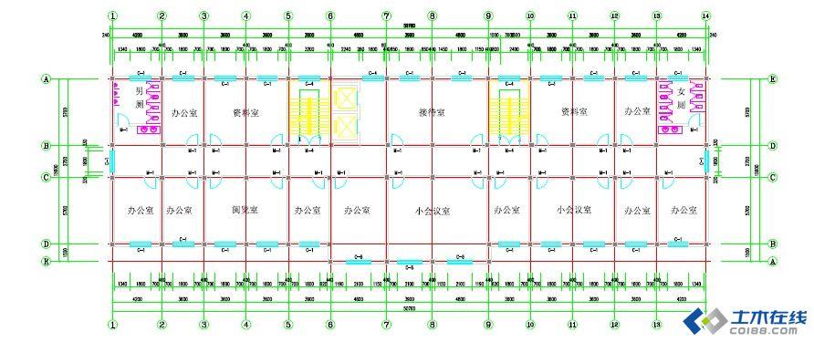 板楼框架结构
