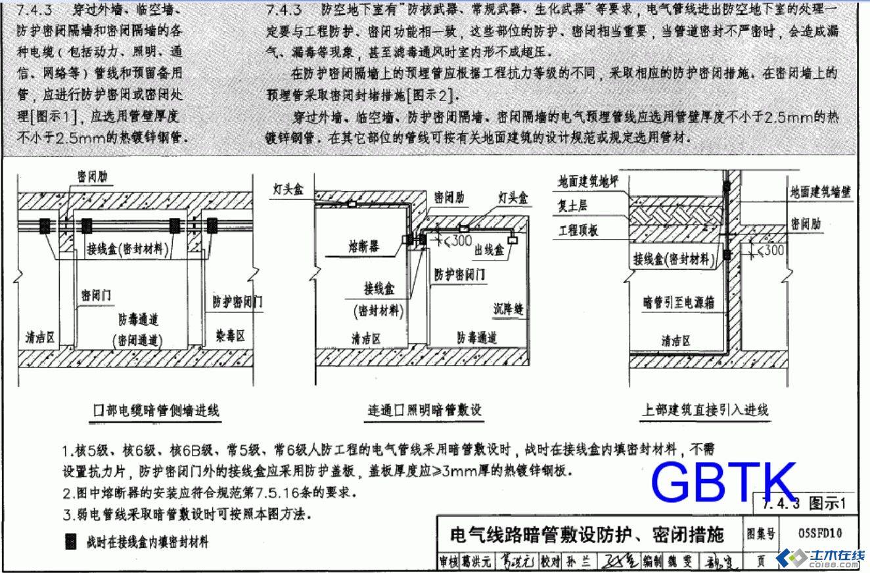 """电缆暗管"""" """"连通口   照明   暗管"""" 是什么意思   3:此三"""