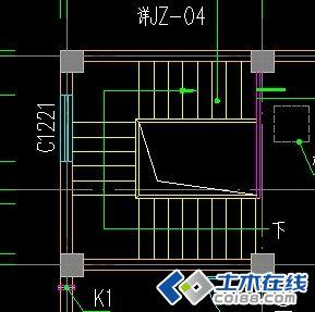 三跑楼梯在pkpm中应该怎么建模?