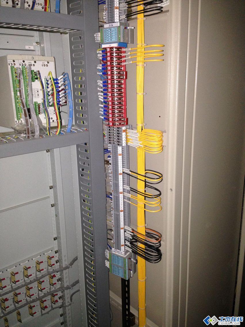 最近做一个35kv变电站二次接线图片