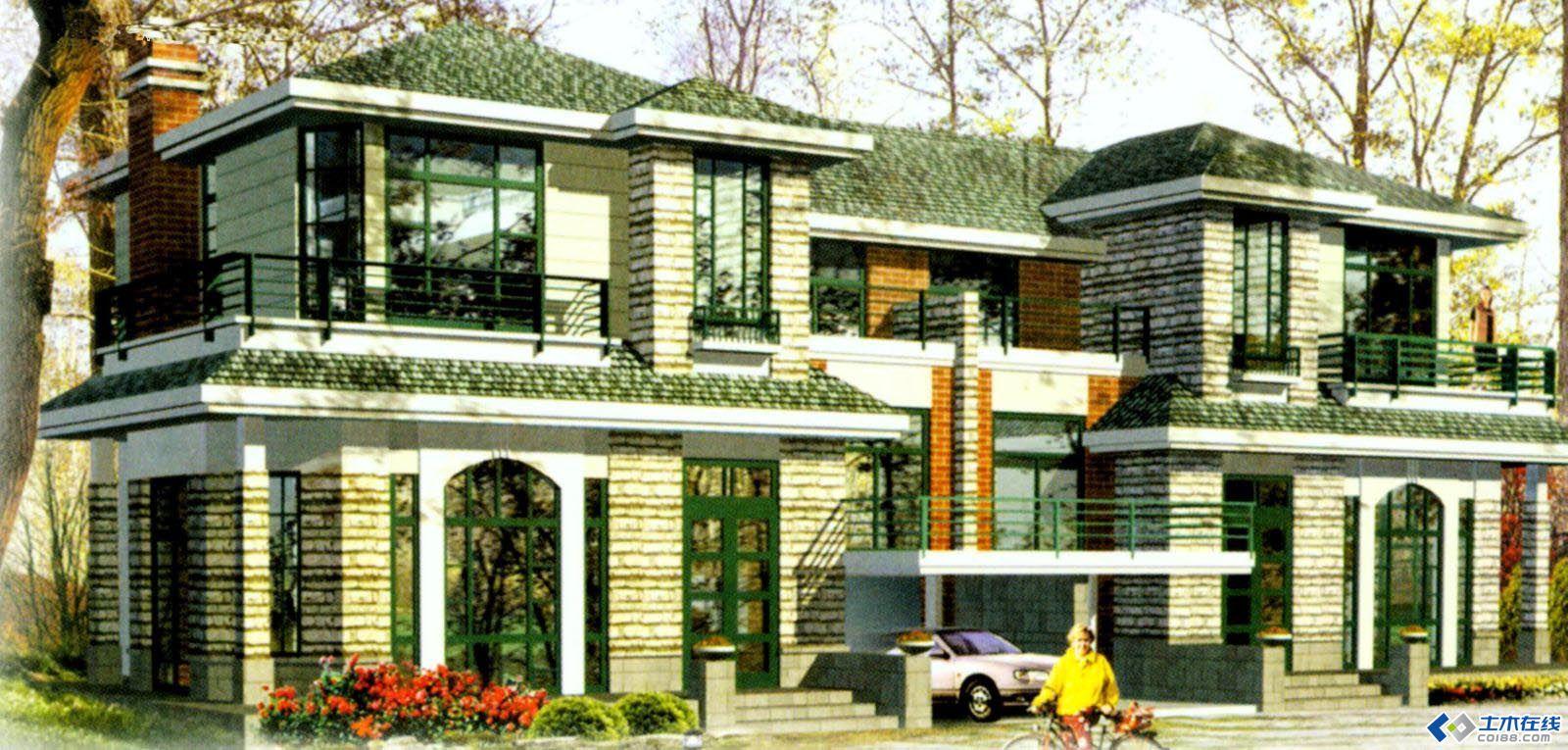 农村房屋两间设计效果图