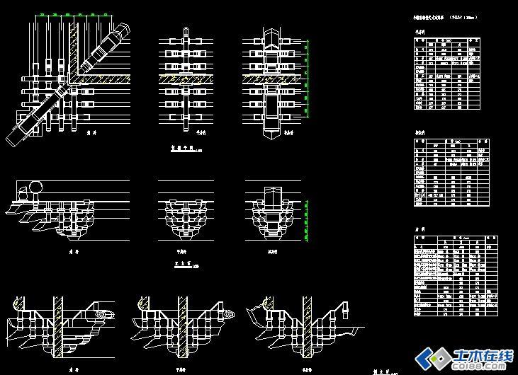 简单的斗拱结构分解图