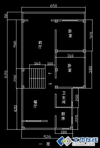 两层楼房平面设计图,求赐教