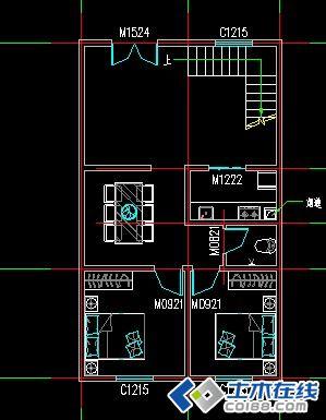 两层楼房设计平面图,请各位大侠赐教