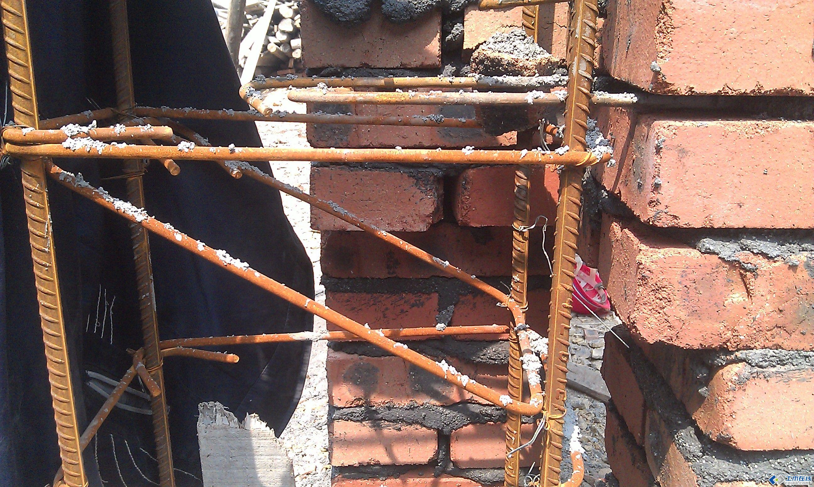 砖混结构拉结筋问题