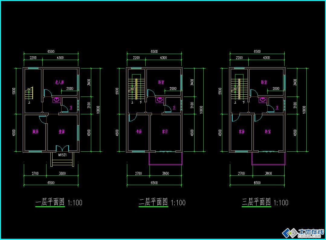 160平方房子设计图