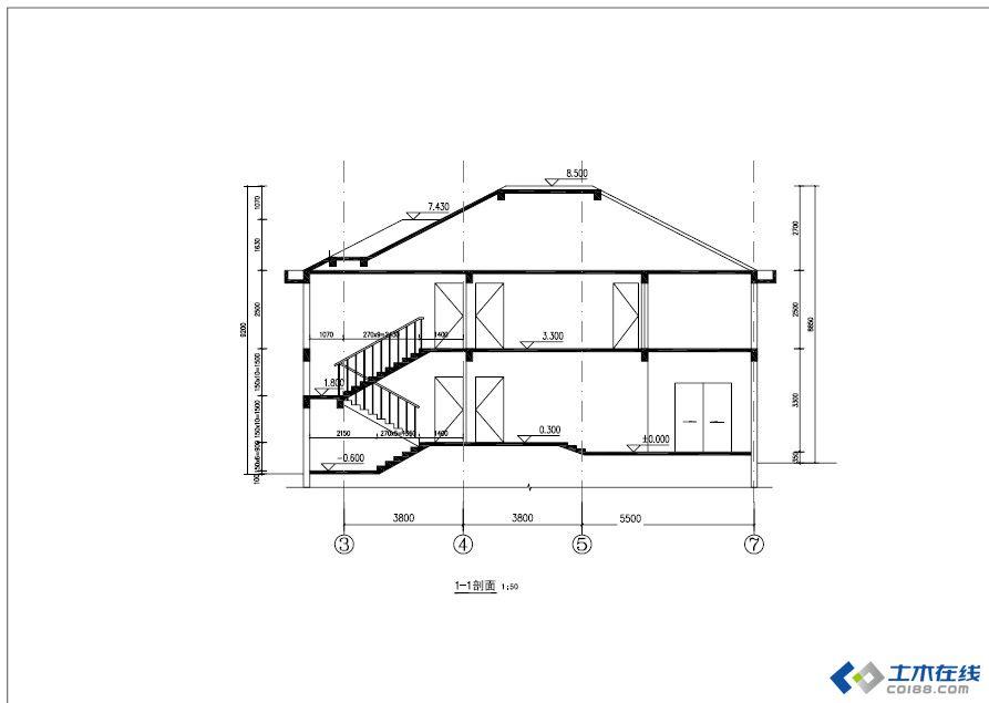 建房日记(设计图 施工图)请各位指正,在建进行时 - 鑫山角钢结构设计