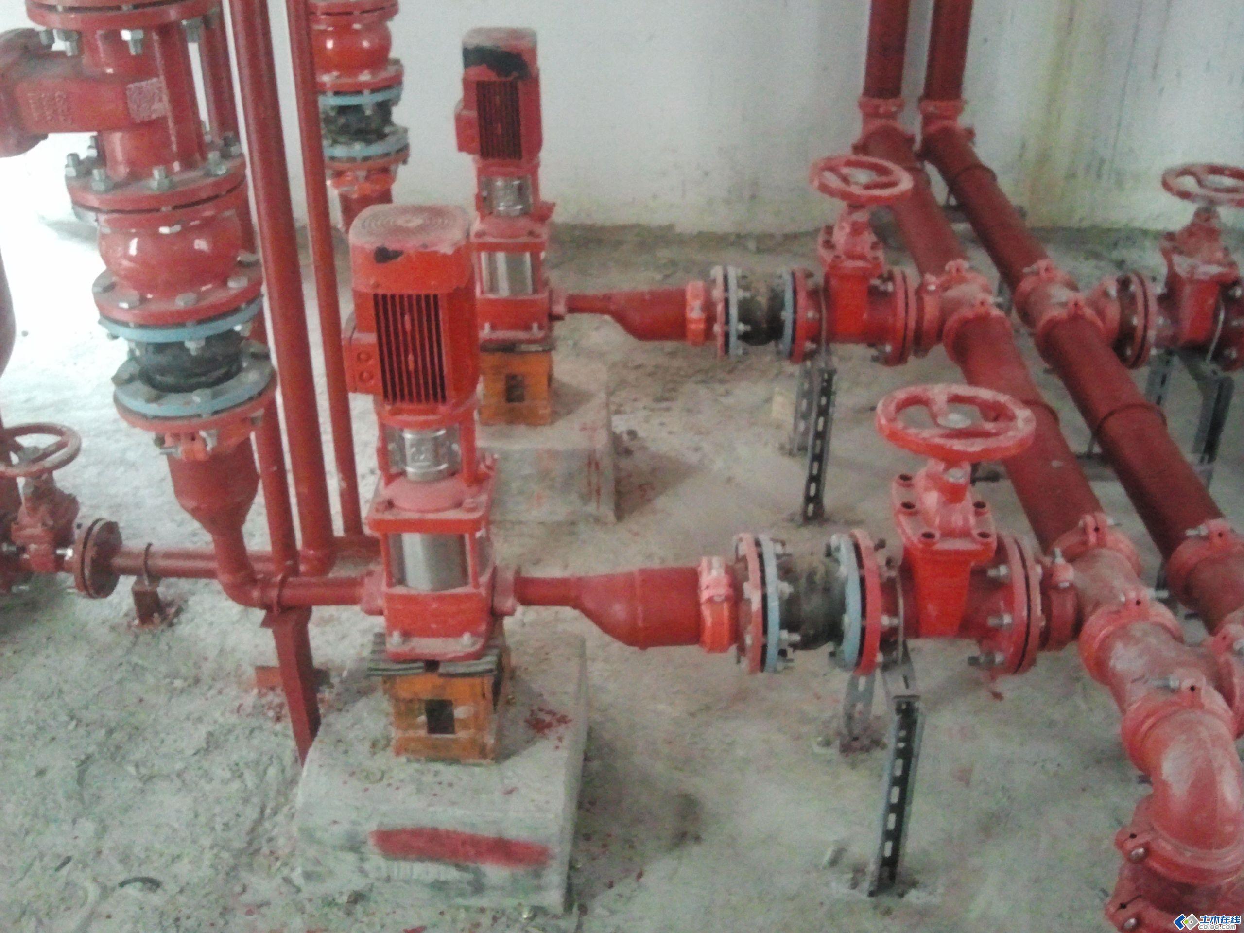 图片--屋顶消防稳压泵房施工安装图片http://bbsfile.co188.