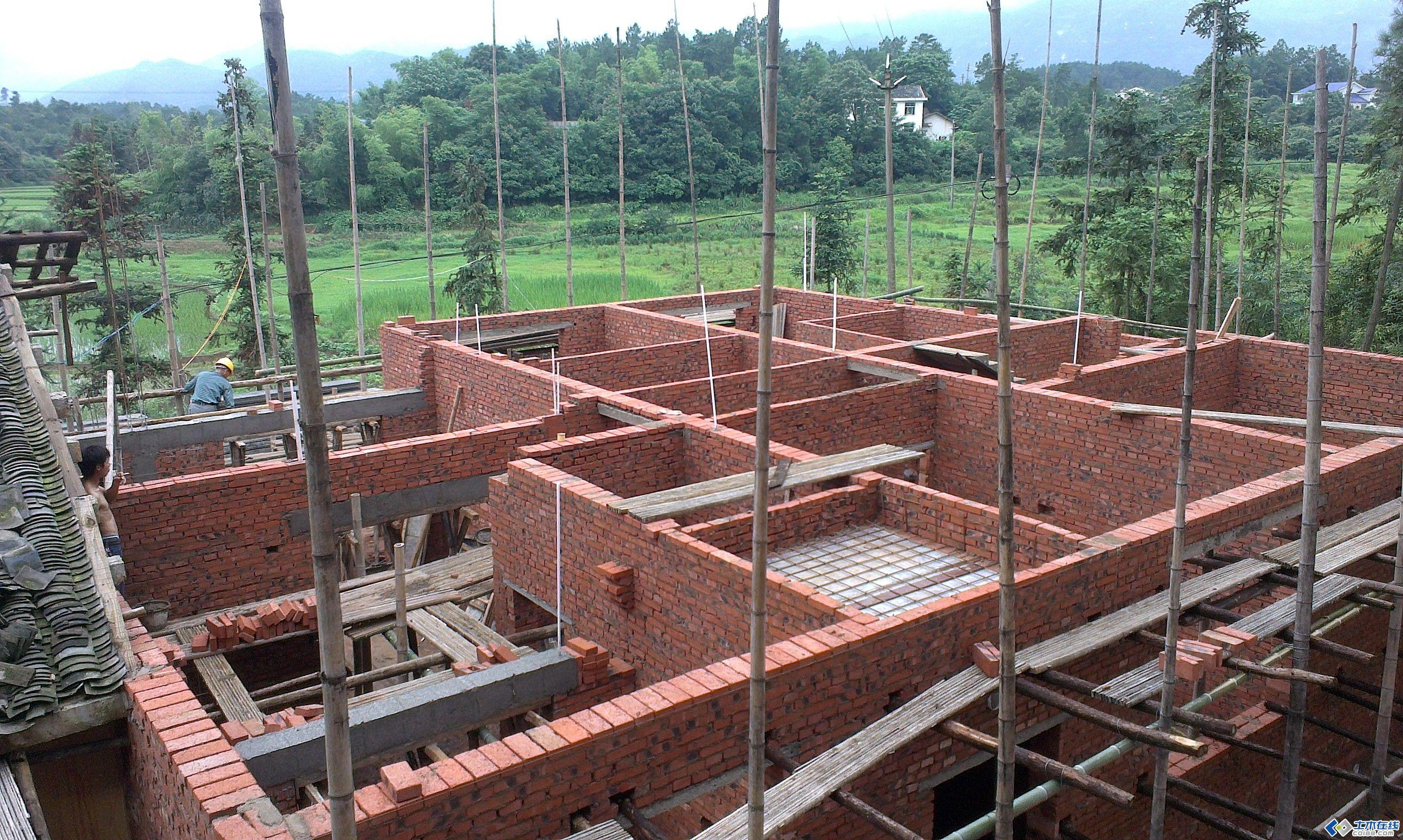 农村小宅建房(设计图 施工图) - 钢结构工程的日志