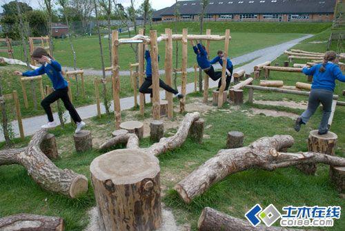 景观小品设计成就创意儿童乐园