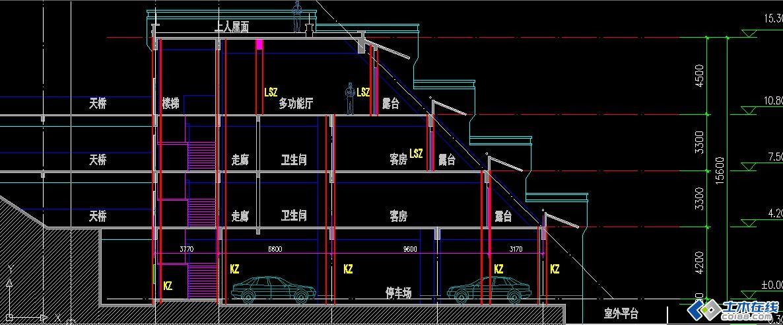 基础竖向在线分享_土木设计机械设计广场李从清王莉静图片