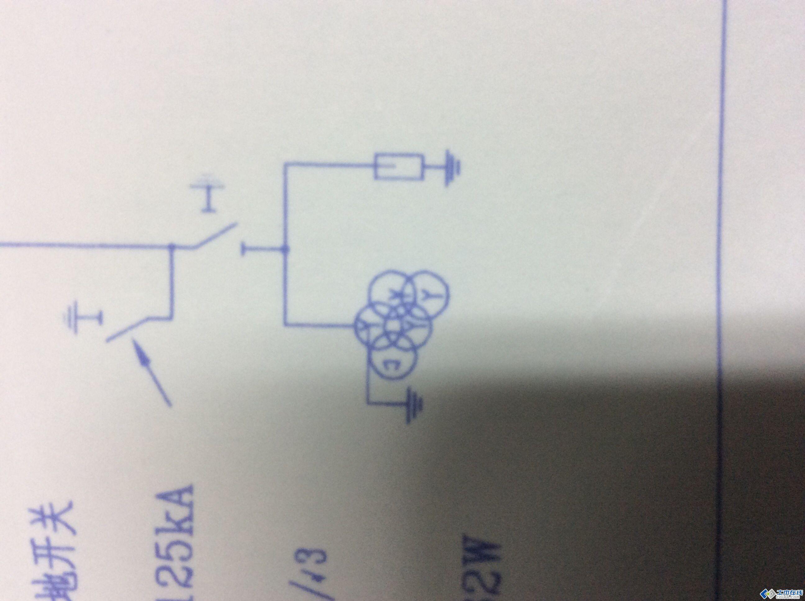 电气主接线图中关于主变 电压互感器的问题